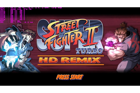 Super Street Fighter II Turbo HD Remix - Xenia (Xbox 360 ...