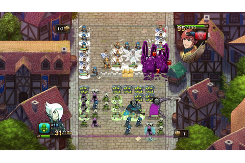Heroes of Might and Magic: Clash of Heroes - PSN Review ...