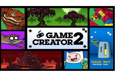 Cartoon Network Games: Game Creator 2 - YouTube