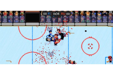 Super Blood Hockey released | Rock, Paper, Shotgun