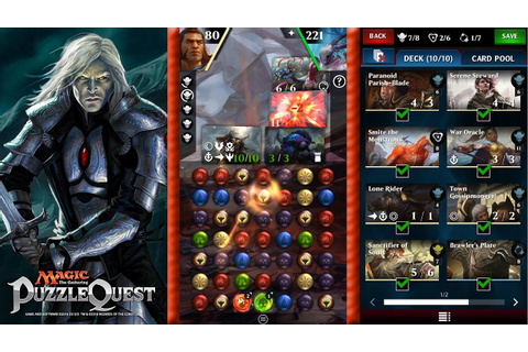 Magic Puzzle Quest - The Greatest MTG Mobile Game Out ...