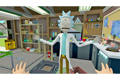 'Rick and Morty' enter the VR video game universe on April ...