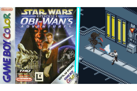 Star Wars Episode I: Obi Wan`s Adventures | Game Boy Color ...