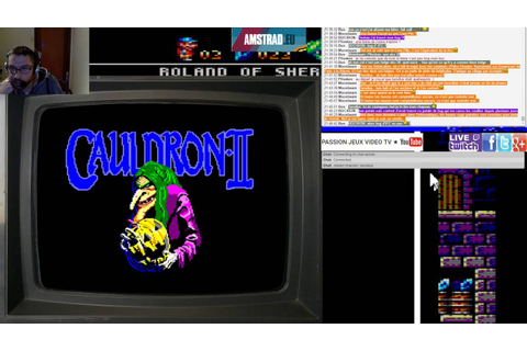 FR Amstrad CPC: Cauldron 2 720p - YouTube