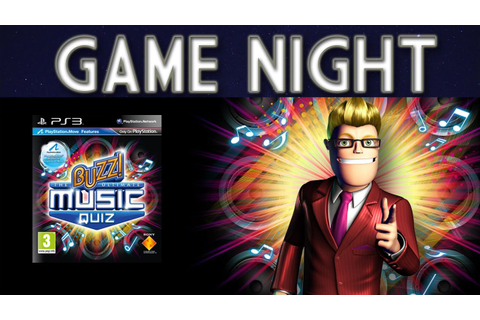 Buzz! The Ultimate Music Quiz - GAME NIGHT! - YouTube