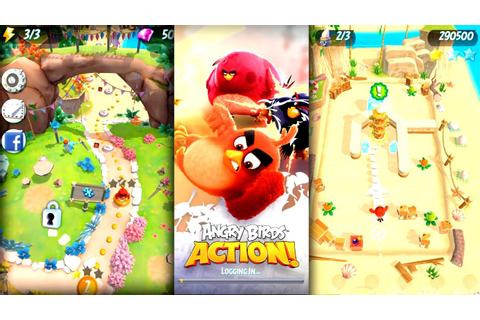 Let's Play Angry Birds Action! - (IAP) In-App Purchase ...