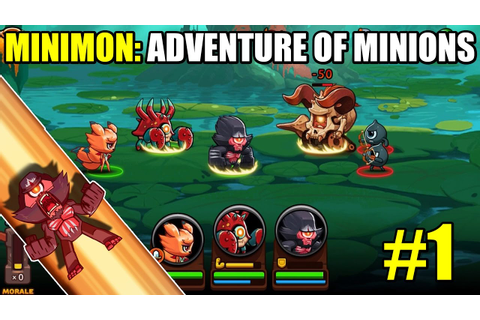 Minimon: Adventure of Minions Gameplay - Part 1 (iOS ...
