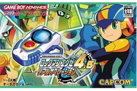 Rockman EXE 4.5 Real Operation - Wikipedia