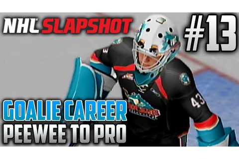NHL Slapshot (Wii) | Peewee to Pro (Goalie Career) | EP13 ...