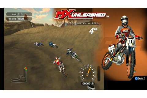 MX Unleashed ... (PS2) - YouTube