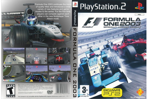 End PS2 Games Melhor Blog de PS2: Formula One 2003 – PS2