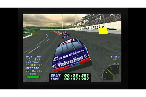 Nascar 98 Sega Saturn - YouTube