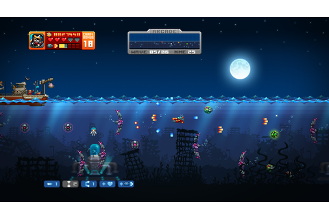 Download Aqua Kitty - Milk Mine Defender Full PC Game