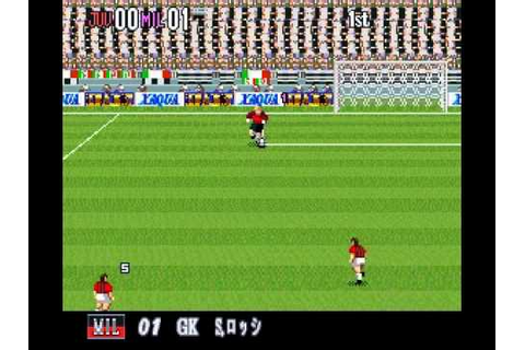 SNES Super Formation Soccer 95: della Serie A - YouTube