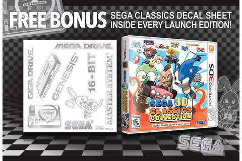 SEGA 3D Classics Collection game cover
