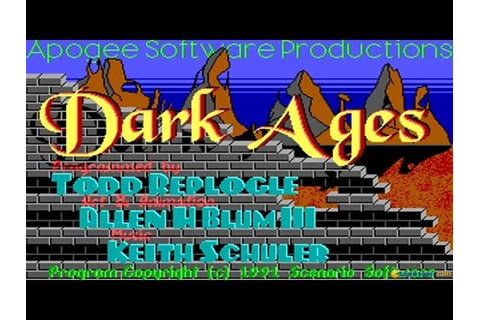 Dark Ages (complete trilogy) gameplay (PC Game, 1991 ...
