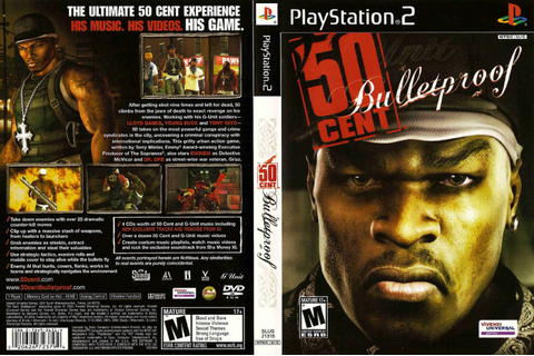 Dark Master PlayStation: 50 Cent: Bulletproof