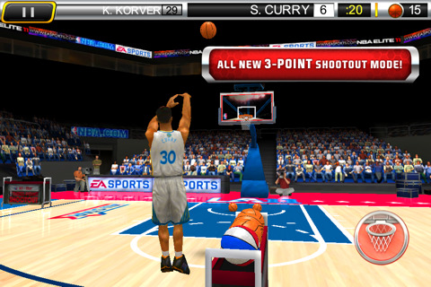 NBA Elite 11 iPhone dribbles onto the New Zealand App ...
