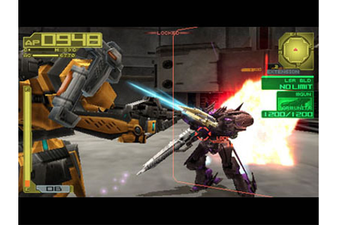 Armored Core 3 Portable Review for PSP (2009) - Defunct Games