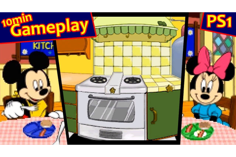My Disney Kitchen ... (PS1) 60fps - YouTube
