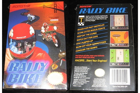 Rally Bike.... Sealed Vintage Nintendo NES by ...