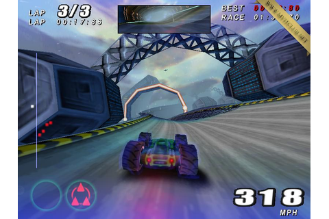 Rollcage Stage II Game Free Download | MYITCLUB - GAMES ...