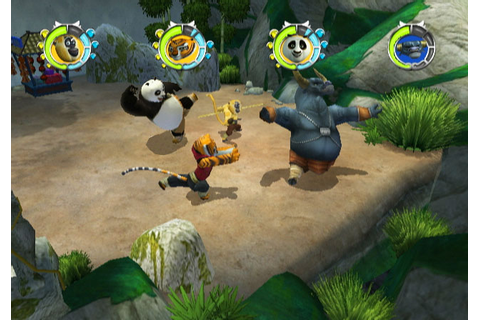 Kung Fu Panda Legendary Warriors - Wii: Wii: Computer and ...