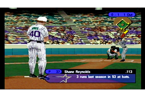 (PS1) Triple Play 99 FULL GAME Astros @ Arizona - YouTube
