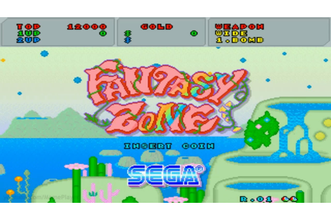 Fantasy Zone 1986 Sega Mame Retro Arcade Games - YouTube