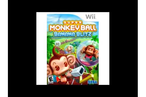 Super Monkey Ball Banana Blitz - Party Game #6 - YouTube