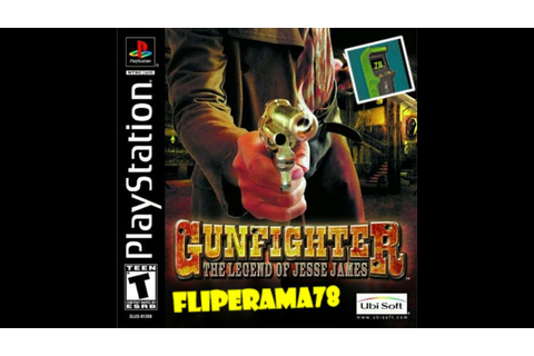 Gunfighter the legend of Jesse James - ps1 - YouTube