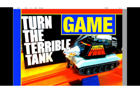 Turn the Terrible Tank Game Tomy Toy Review by Mike Mozart ...