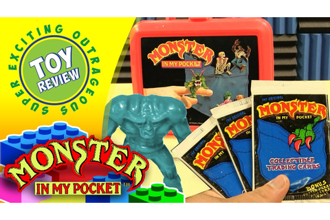 Monster in My Pocket Merchandise (Lunch Box, NES Game, Fan ...