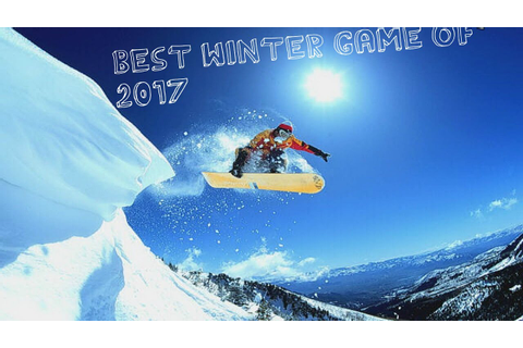 Best free ski/snowboard game for 2017 - YouTube