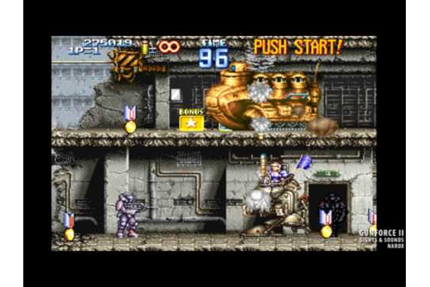 The Sight & Sound of GUNFORCE II (arcade game, 1994 ...