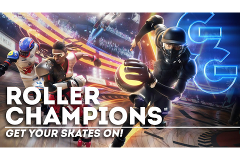 Roller Champions: The Next Great Video Game Sport? - YouTube