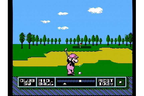 Download NES Open Tournament Golf (NES) - My Abandonware