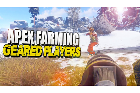 APEX Farming GEARED Players (Rust Survival) #71 - YouTube
