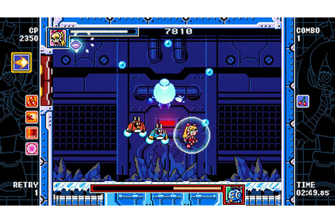 Mighty Gunvolt Burst version 1.2 update now available ...