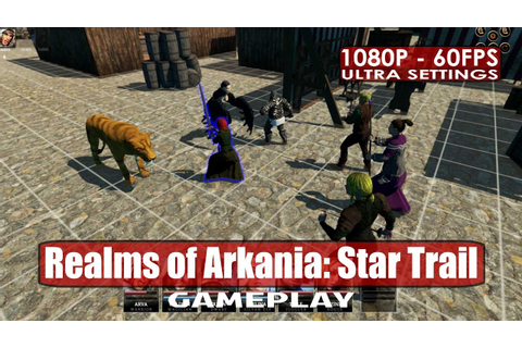 Realms of Arkania: Star Trail gameplay PC HD [1080p/60fps ...