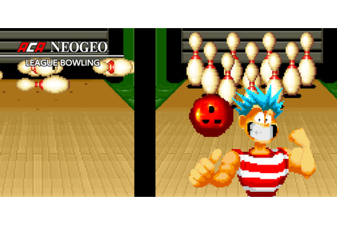 ACA NEOGEO LEAGUE BOWLING | Nintendo Switch download ...