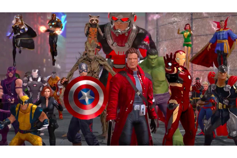 Marvel Heroes Omega Official Console Announce Trailer ...