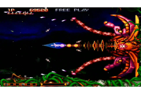 Gradius Collection - Gradius Gaiden Stage 6 & Stage 7 Loop ...