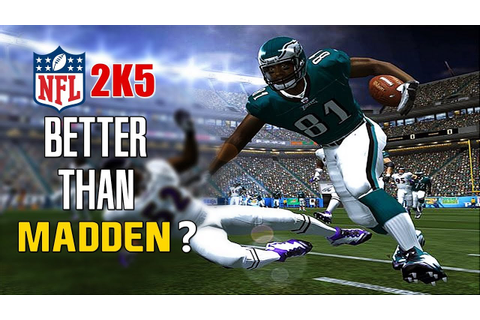 Is NFL 2K5 the Best American Football Game? - YouTube