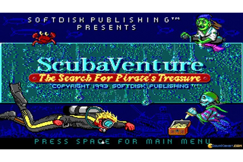 Scuba Venture gameplay (PC Game, 1993) - YouTube