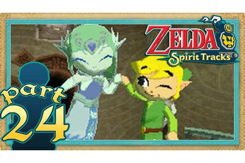 The Legend of Zelda: Spirit Tracks - Part 24 | Fire Rail ...