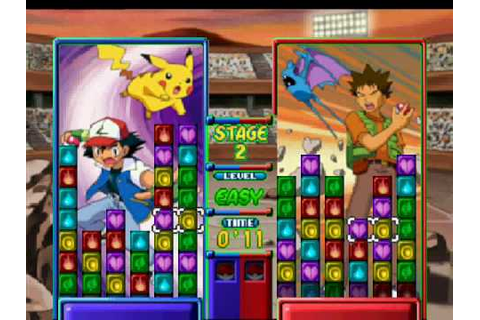 Pokemon Puzzle league gameplay - YouTube