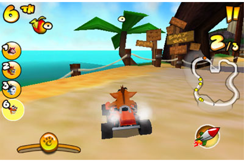 Crash Bandicoot Nitro Kart 2 iPhone game - free. Download ...