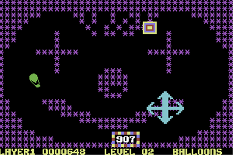Download Crazy Balloon (Commodore 64) - My Abandonware