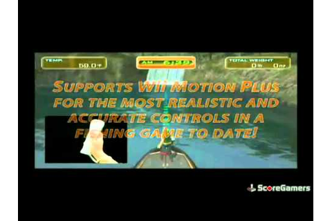 Hooked! Again: Real Motion Fishing Wii Trailer - YouTube